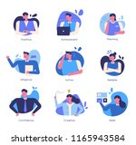 efficient way for successful... | Shutterstock .eps vector #1165943584