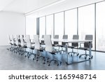 clean conference room interior... | Shutterstock . vector #1165948714