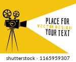 cinema.silhouette movie...   Shutterstock .eps vector #1165959307