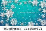 christmas illustration with... | Shutterstock .eps vector #1166009821
