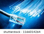 network cable and optical...   Shutterstock . vector #1166014264