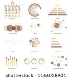 business data visualisation... | Shutterstock .eps vector #1166028901