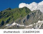 marble quarries  carrara white... | Shutterstock . vector #1166044144
