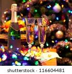 new year celebration   Shutterstock . vector #116604481