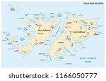 falkland islands  also malvinas ... | Shutterstock .eps vector #1166050777