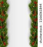 vector christmas background... | Shutterstock .eps vector #1166061844