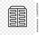 condenser vector icon isolated... | Shutterstock .eps vector #1166092054