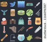 set of 25 icons such as mouse ...