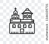 Domed Churches Vector Icon...