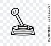 game controller vector icon... | Shutterstock .eps vector #1166111017