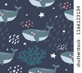 cute cartoon illustration of a... | Shutterstock .eps vector #1166123134
