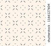 vector minimalist geometric... | Shutterstock .eps vector #1166127604