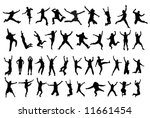 happy people | Shutterstock .eps vector #11661454