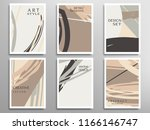 creative artistic backgrounds... | Shutterstock .eps vector #1166146747