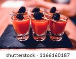 cocktail in a modern restaurant ...   Shutterstock . vector #1166160187