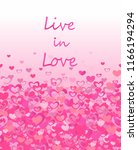 print with live in love... | Shutterstock .eps vector #1166194294
