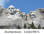 Mt. Rushmore  Photographed Fro...