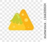 nachos vector icon isolated on...   Shutterstock .eps vector #1166200024