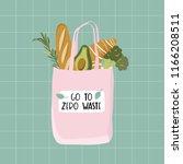 hand drawn elements of zero... | Shutterstock .eps vector #1166208511