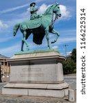 A Statue Of Queen Victoria...