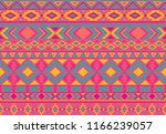 boho pattern tribal ethnic... | Shutterstock .eps vector #1166239057