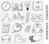 Hand Draw Business Management...