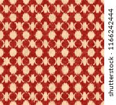 fractured checked motif in red... | Shutterstock . vector #1166242444