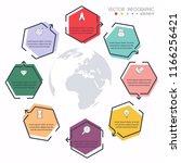 vector info graphics for your... | Shutterstock .eps vector #1166256421