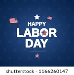 Happy Labor Day Background Wit...