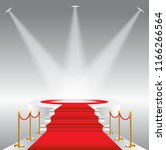 red carpet for celebrities ... | Shutterstock . vector #1166266564