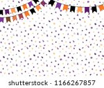 cute vector background with... | Shutterstock .eps vector #1166267857
