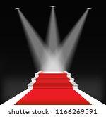 red carpet for celebrities ... | Shutterstock . vector #1166269591