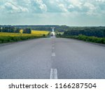 country asphalt road... | Shutterstock . vector #1166287504