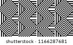 seamless pattern with striped... | Shutterstock .eps vector #1166287681