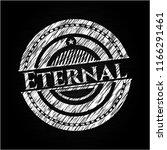 eternal on chalkboard | Shutterstock .eps vector #1166291461