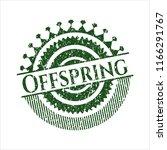 green offspring distress rubber ... | Shutterstock .eps vector #1166291767