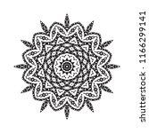 beautiful vector circular... | Shutterstock .eps vector #1166299141