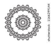 beautiful vector circular... | Shutterstock .eps vector #1166299144