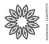 beautiful vector circular... | Shutterstock .eps vector #1166299174