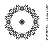 beautiful vector circular... | Shutterstock .eps vector #1166299204
