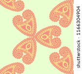 seamless hand drawn pattern... | Shutterstock .eps vector #1166304904