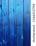 texture of blue boards | Shutterstock . vector #1166312704