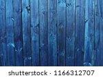 texture of blue boards | Shutterstock . vector #1166312707