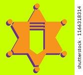epaulette sign. shoulder mark ... | Shutterstock .eps vector #1166318314