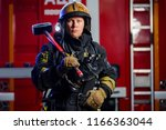 Photo Of Young Fireman With...