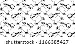 bear seamless pattern polar... | Shutterstock .eps vector #1166385427