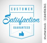 customer satisfaction... | Shutterstock .eps vector #1166406361