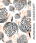 pattern art  fashion textile ... | Shutterstock .eps vector #1166421697