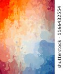 abstract colorful digital... | Shutterstock . vector #1166432554