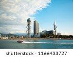 batumi has a lot of modern... | Shutterstock . vector #1166433727